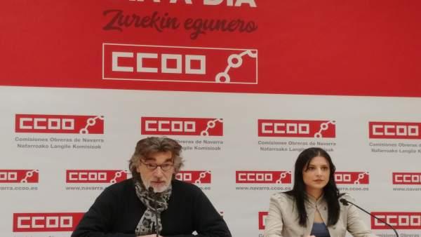 Chechu Rodríguez y Nerea Contreras