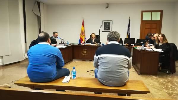 Segundo Día Del Juicio Contra Jaime Garau Y Pedro Talavera
