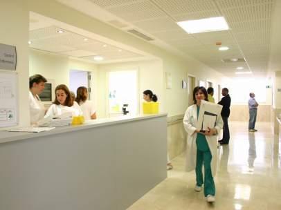 Enfermería de un hospital público del Servicio Andaluz de Salud (SAS)