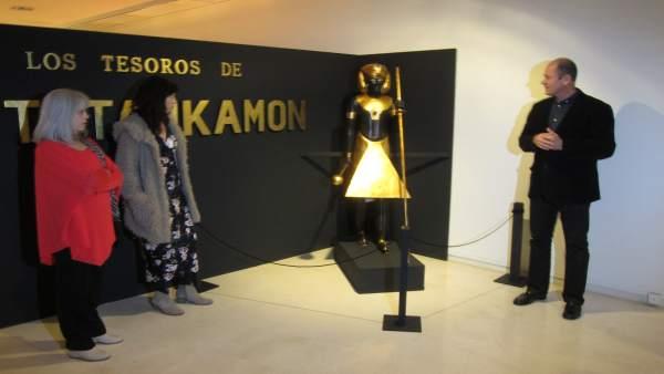 Presentación de la exposición 'Los tesoros de Tutankamon'