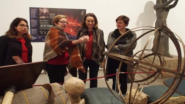 Gamarra, en la inauguración de la exposición