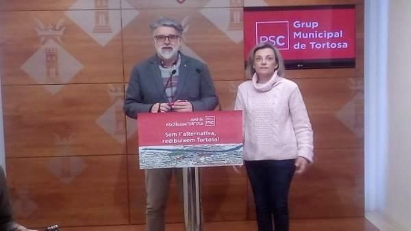 Enric Roig y Dolors Bel (PSC)