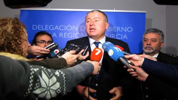 El delegado ante los medios