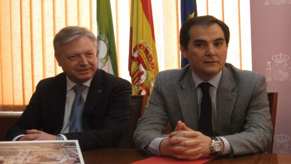 José Antonio Nieto con Juan José Primo Jurado