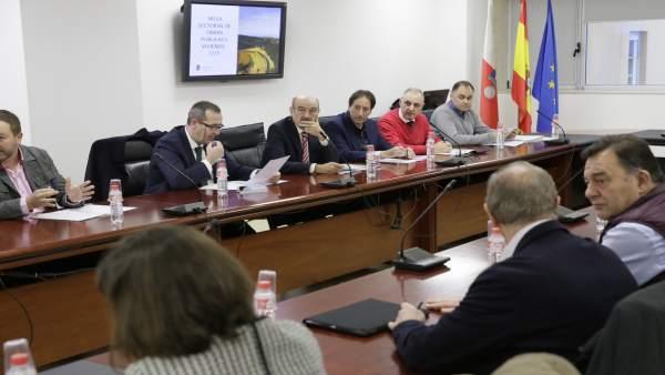 Mesa Sectorial de Obras Públicas