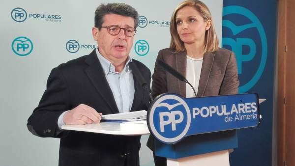 Juan José Matarí y Maribel Sánchez (PP)