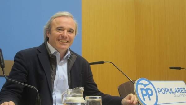 Jorge Azcón , concejal del PP