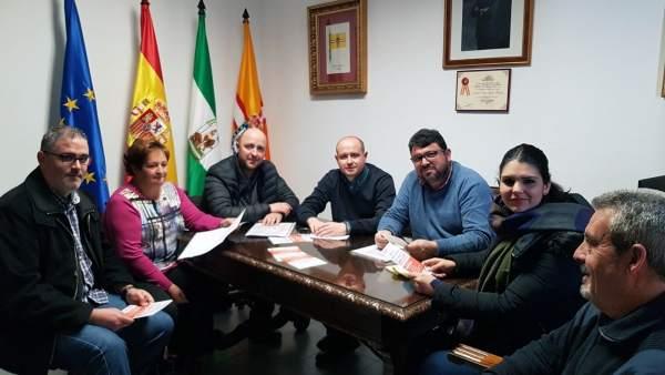 Psoe Almería. Nota, Foto Y Corte Inseguridad Fiñana