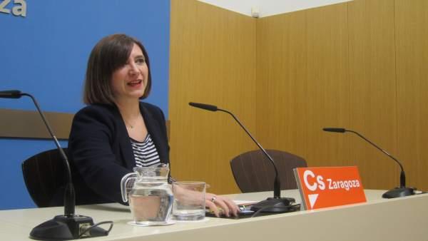 Sara Fernández, concejal de Ciudadanos