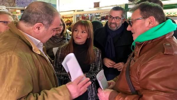 Verónica Pérez participa en el arranque de la campaña 'Conquistando derechos'