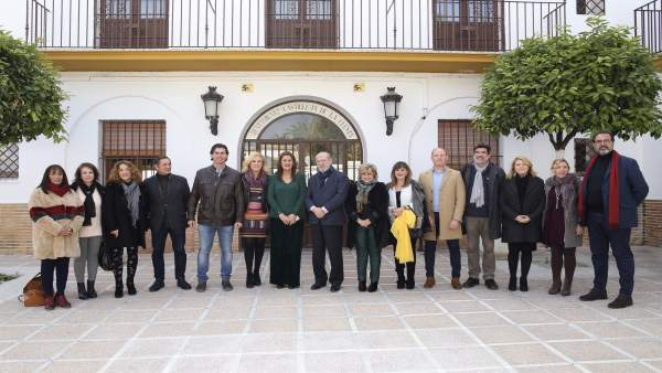 Visita institucional a Castilleja