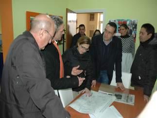 La presidenta de la Diputación de Zamora conoce el proyecto de Valcabado