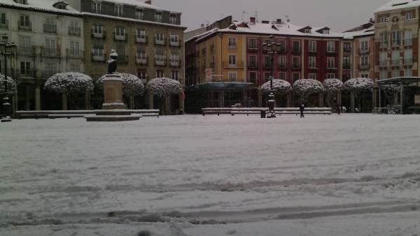 Nevada en Burgos (Nieve)