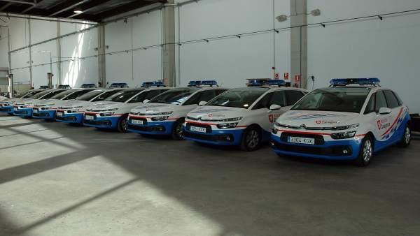 Nuevos vehículos para la Policía Local de Zaragoza