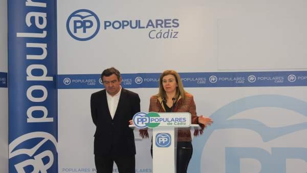 Los populares Teresa Ruiz-Sillero y José Loaiza