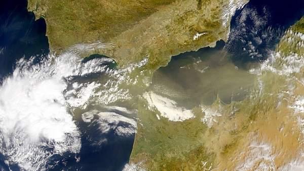 Polvo del Sáhara