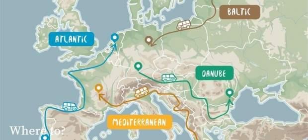 La Comisión Europea crea el programa 'Road Trip Project' para descubrir Europa en furgoneta sin ...