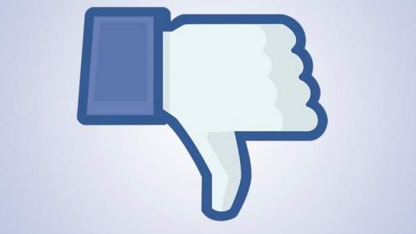 Facebook prueba el botón 'Dislike'