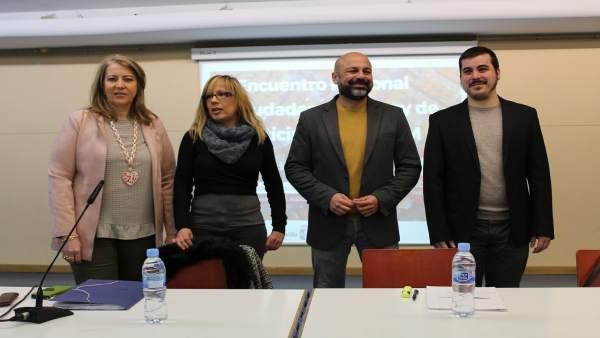 Molina en el encuentro de Albacete