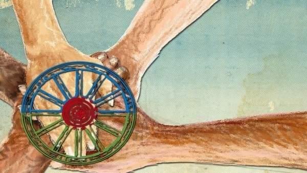 La rueda que simboliza al pueblo gitano