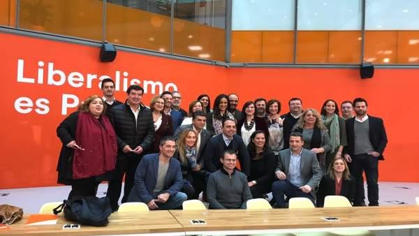 Reunión de portavoces de Ciudadanos