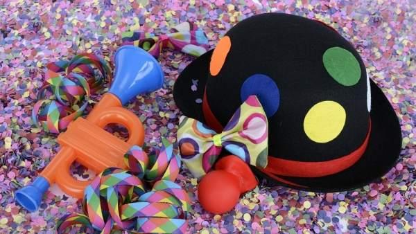 El Gobierno de Aragón interviene unidades de productos de Carnaval.