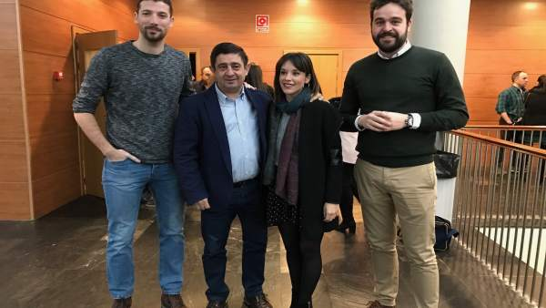 Reunión de Juventudes Socialistas en Jaén