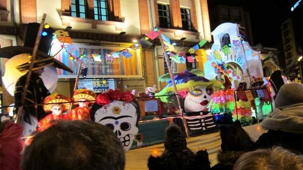 Parte Del Desfile De Carnaval De Logroño