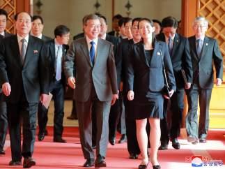 Reunión de las dos Coreas