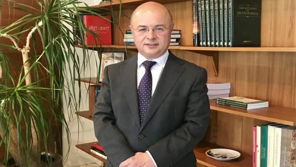 El consejero de Hacienda y Administraciones Públicas, Andrés Carrillo
