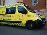Una imagen de archivo de la ambulancia de Emergencias Sanitarias en Valladolid