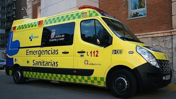 Valladolid.- Ambulancia de Emergencias Sanitarias