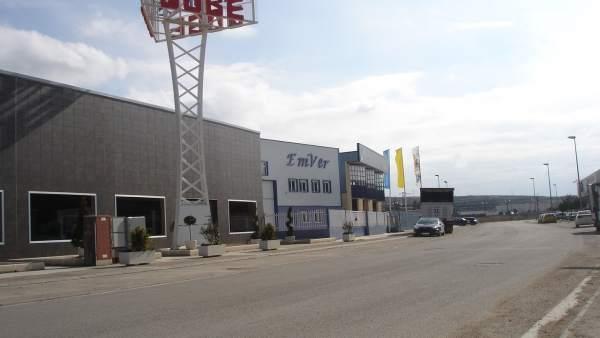 Polígono industrial en Calatayud