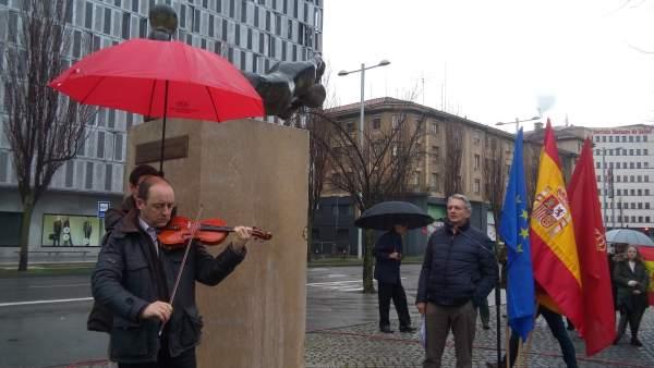 Homenaje a las víctimas de ETA en Pamplona