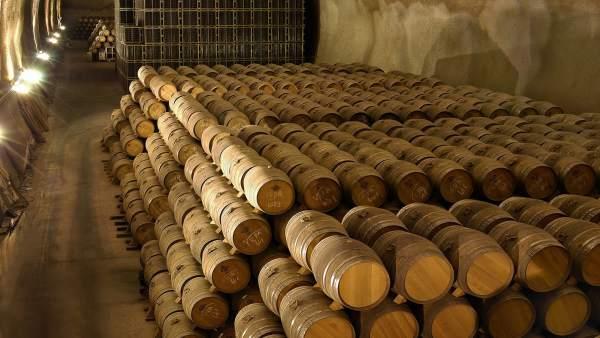 Túnel de barricas
