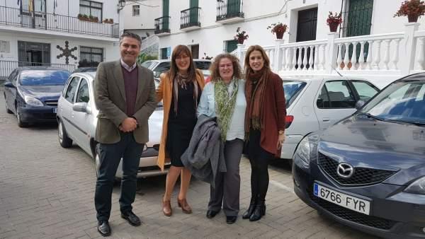 Grupo socialista en Diputación Tolox