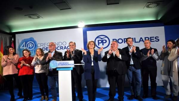 Pp Clm (Fotografías) Cospedal Y Tirado Reunión De Alcaldes De La Provincia De To