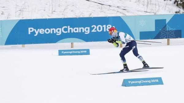 Imanol Rojo skiatlón Juegos Olímpicos Invierno PyeongChang