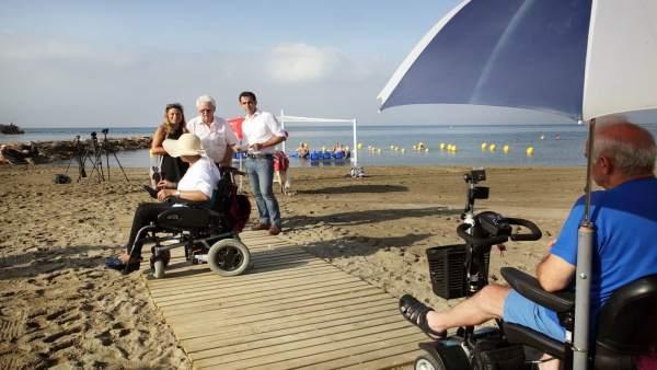 Playa Marbella adaptada