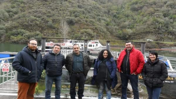 El BNG en Doade, Sober (Lugo), contra la privatización de los catamaranes