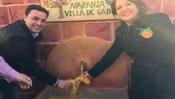 Gádor (Almería) celebra la Fiesta de la Naranja