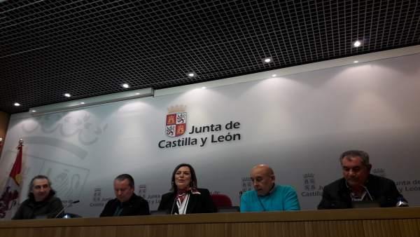 Valladolid.- Marcos (c) da a conocer los resultados de las elecciones
