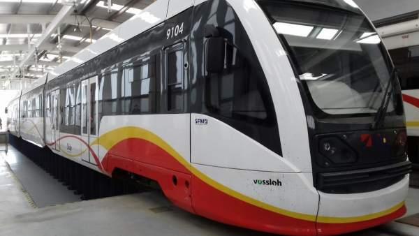 SFM, tren, transporte público, servicio ferroviario, vagón, recurso