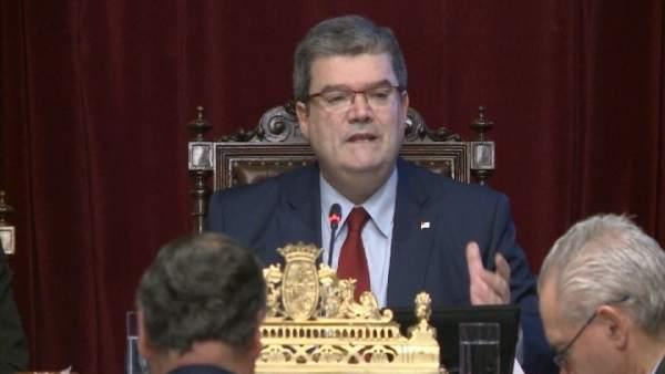 El Alcalde De Bilbao, Juan María Aburto,