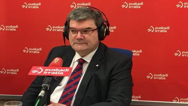 Juan Mari Aburto en Euskadi Irrratia