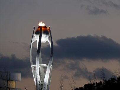 Atardecer olímpico