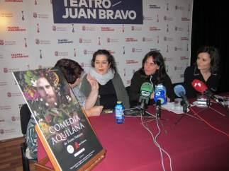 Presentación de 'Comedia Aquilana', de Nao d'Amores