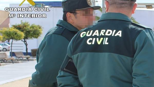 Efectivos de la Guardia Civil de Huelva