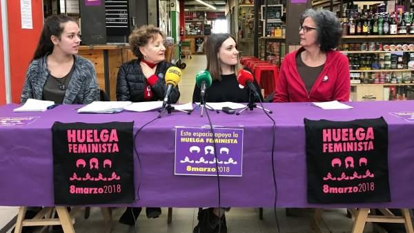 COMISIÓN 8 DE MARZO, HUELGA FEMINISTA