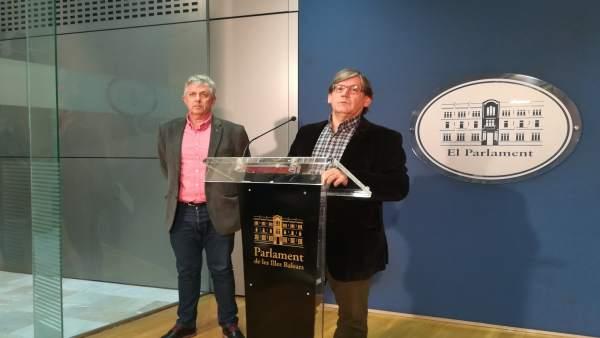 Enric Casanova Y Vicenç Thomàs